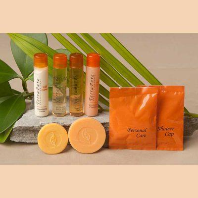 Terra Pure Citrus Wild Organic Amenities Bathroom