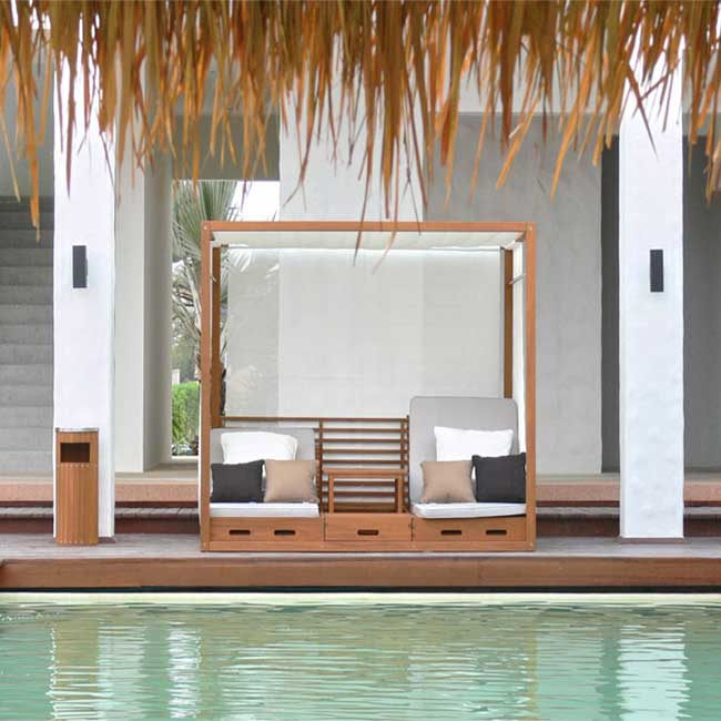 Summer Cabana Beautiful & Practical