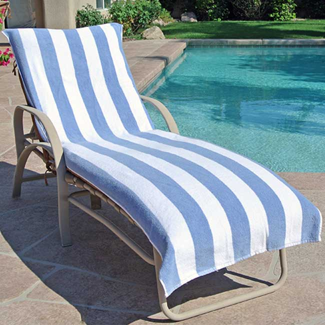 Chair Lounge Towel easy to hold