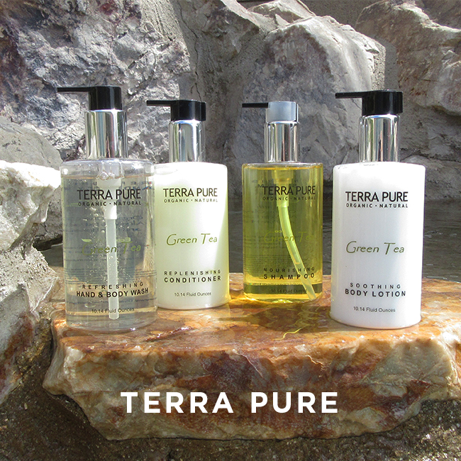 Essential and Natural bath line Terra Pure Set