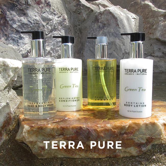 Essential and Natural bath line Terra Pure Set