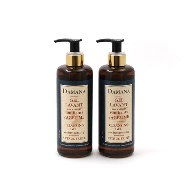 Cleansing gel with extracts of citrus fruit | Damana Set