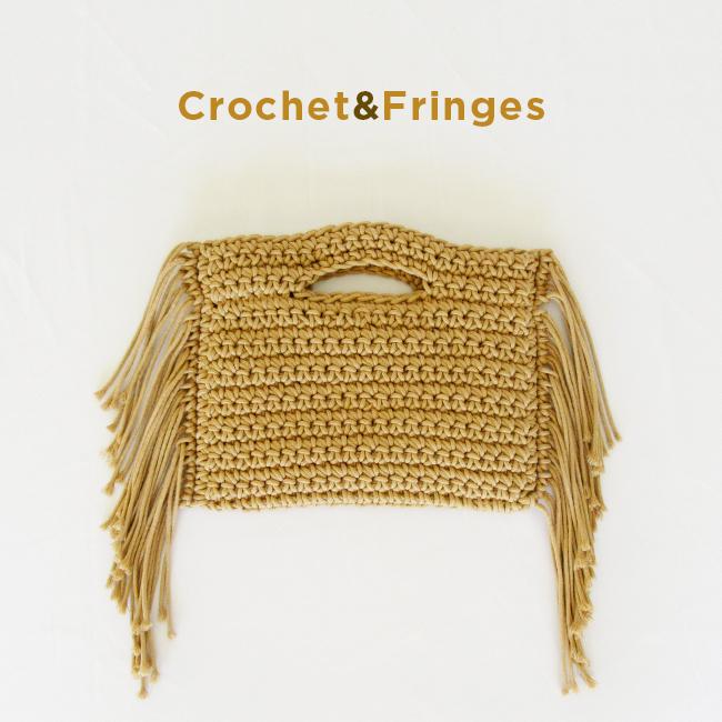 Crochet Fringes small bag